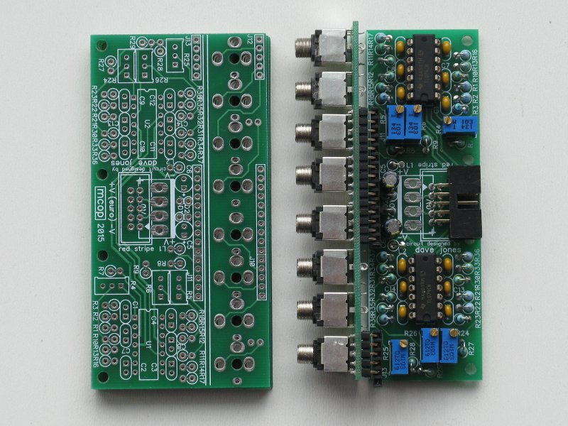 Preciscion multiple pcb's