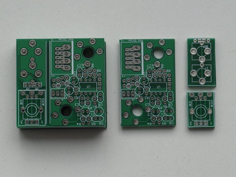 Stompbox adapter pcb's
