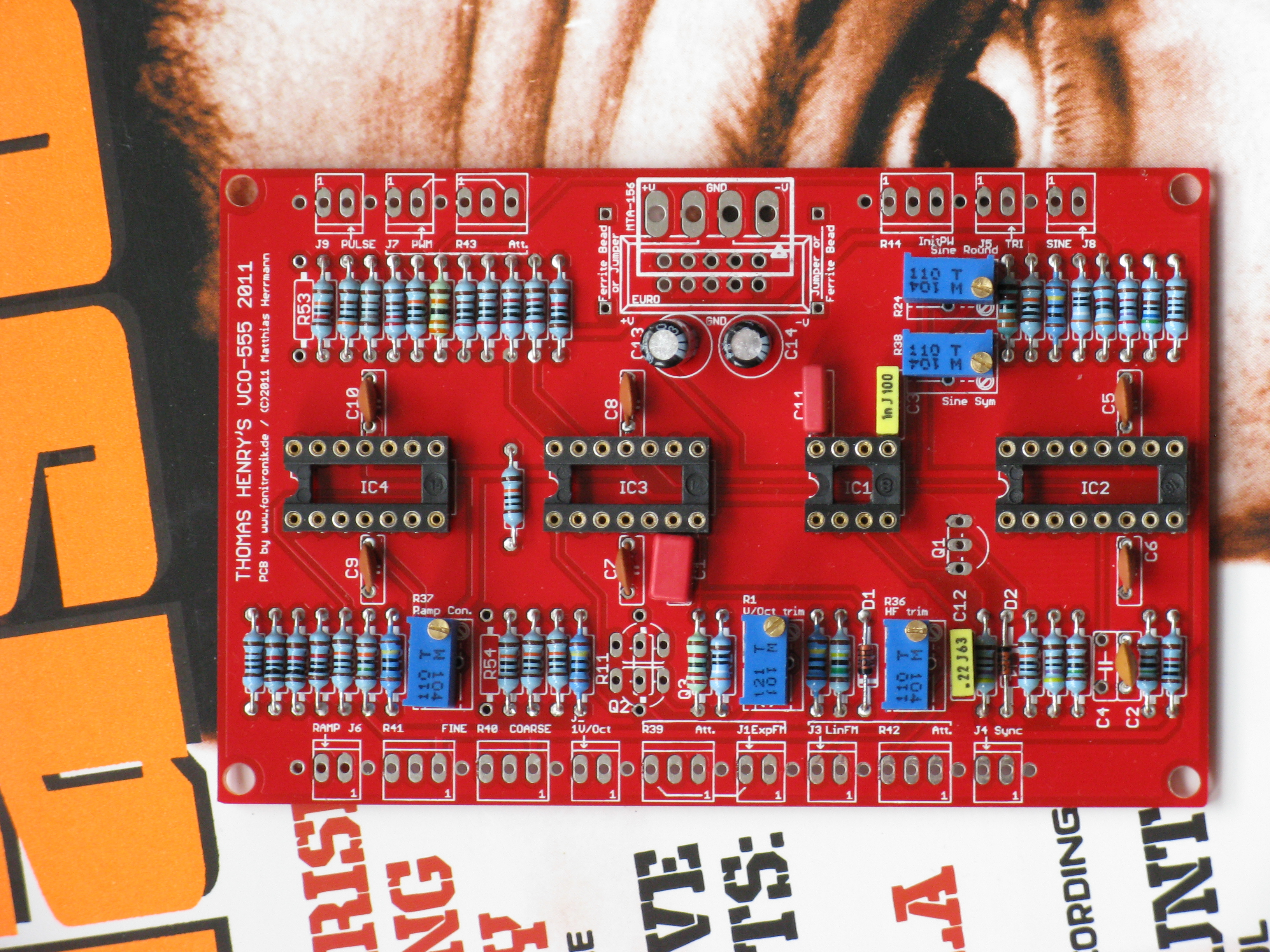 Muff Wiggler View Topic Pcb Thomas Henrys 555 Vco 2nd Run Pin 4 Reset Behavior Test Circuit 1 Full Size Here Th Board