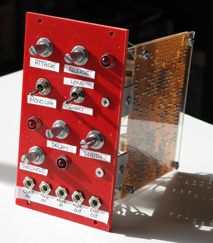 Envelope Generator from the front