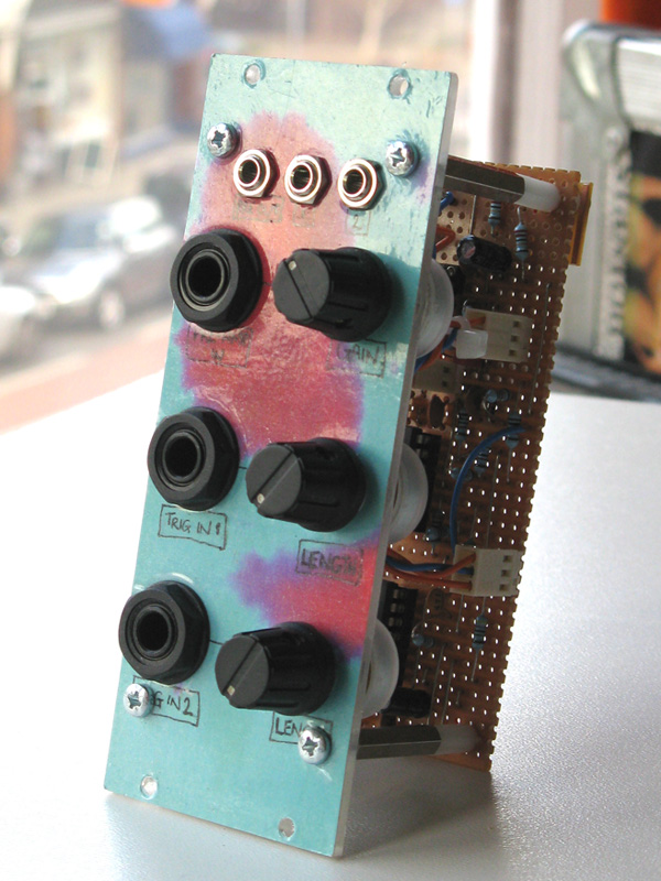 External signal conditioner front