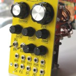 TH X-4046 Oscillator re-paneled and with added frequency lock switch